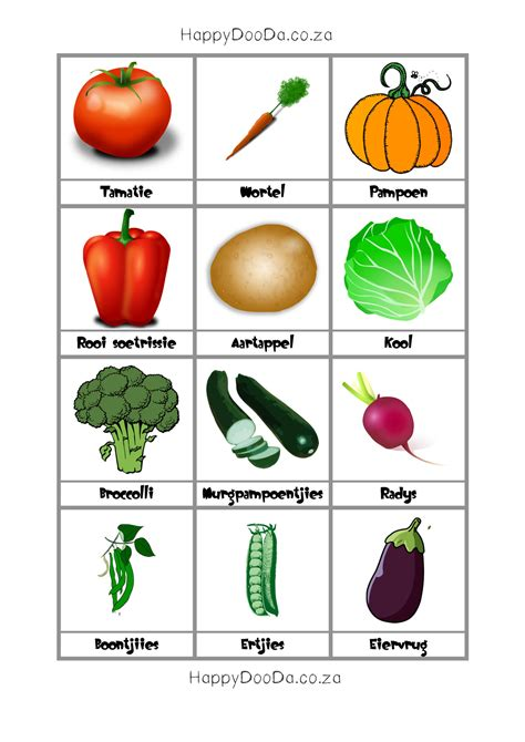 vegetable flashcards printable fruits and vegetables printables pictures to pin on