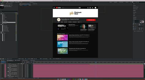 tutorial adobe after effect youtube create and animate the youtube ui in adobe after effects
