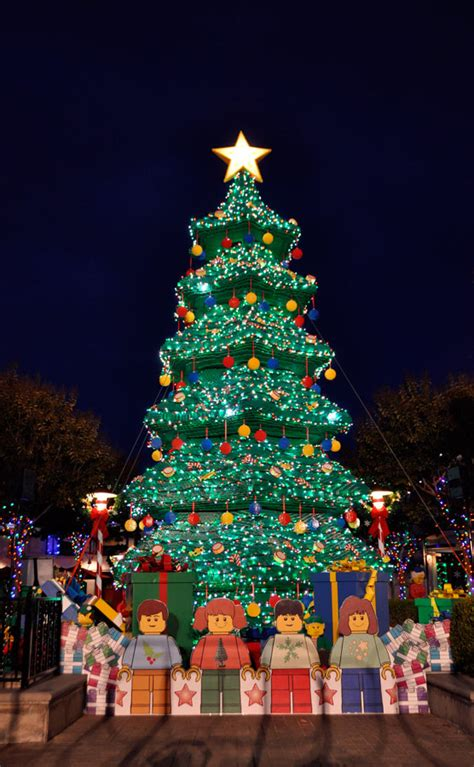 reason for christmas trees 5 reasons to visit legoland california during the holidays