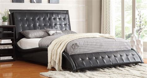 tully bed coaster tully bed black 300362 at homelement com