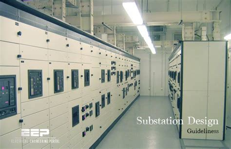 substation layout design guide power substation guides electrical engineering portal