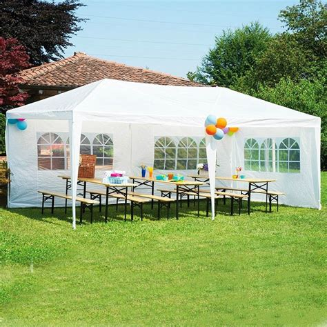 Box Bridesmaid 20 X 30 X 10 10 x30 wedding patio tent canopy outdoor heavy duty gazebo pavilion events 8 side walls