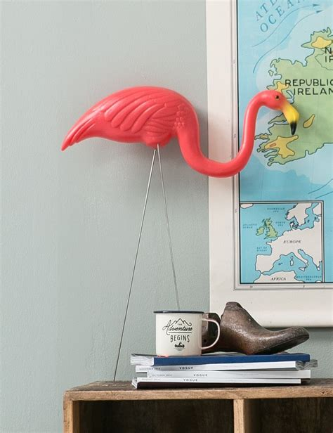 kitsch flamingo home decor trend homegirl
