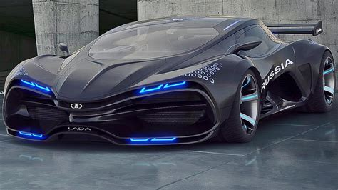 VECTOR RAVEN   RUSSIAN AWESOME SUPERCAR! (Lada Raven) I
