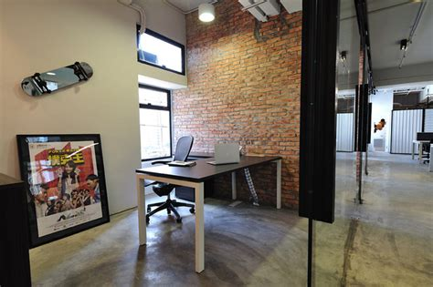 cool home offices a cool raw office design modern home office hong