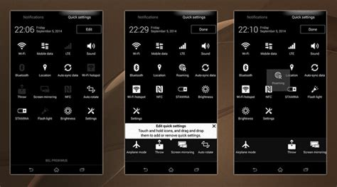 download themes xperia z download install xperia z3 system ui theme on xperia z2