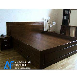 tempat tidur jati minimalis dipan jati minimalis modern ranjang minimalis jati camas