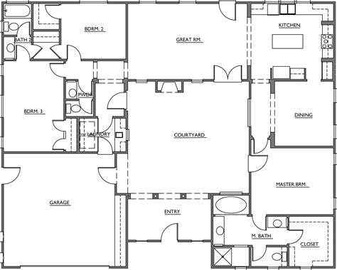 courtyard floor plans mesquite courtyard homes floor plans turner
