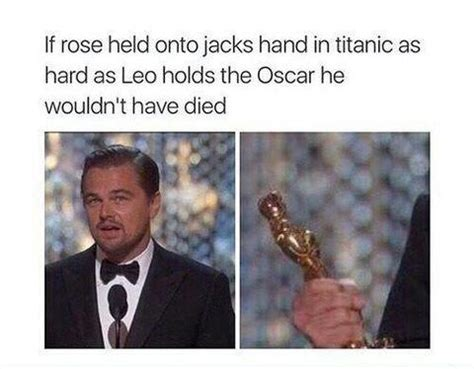 Dicaprio Oscar Meme - it didn t have to end like that