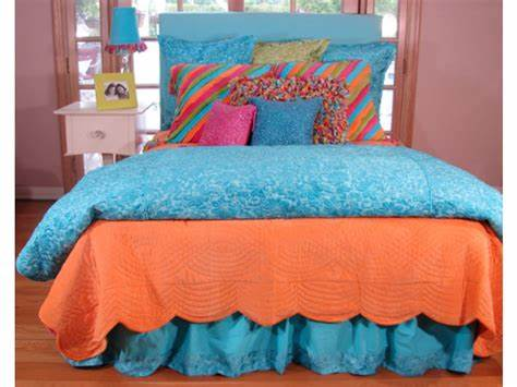 Bedding Handcrafted Fish Quilt Collection