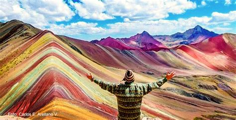 colors of the mountain vinicunca the seven color mountain of cusco