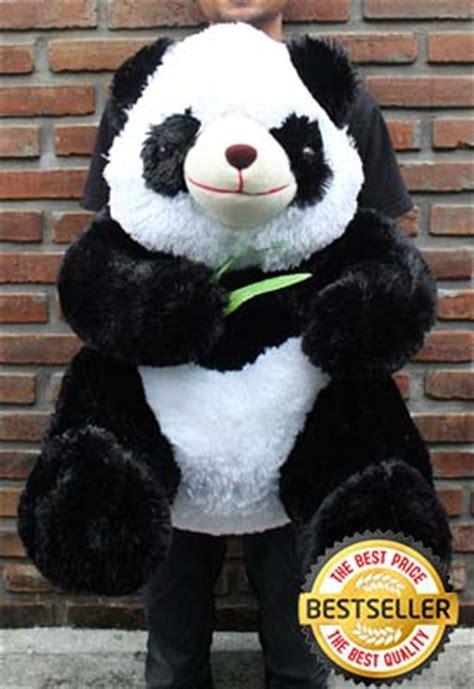 Boneka Panda Jumbo 80cm harga boneka besar lucu boneka panda besar boneka