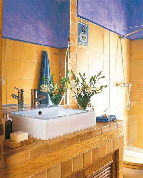 blue and yellow bathroom ideas 25 modern bathroom ideas adding sunny yellow accents to