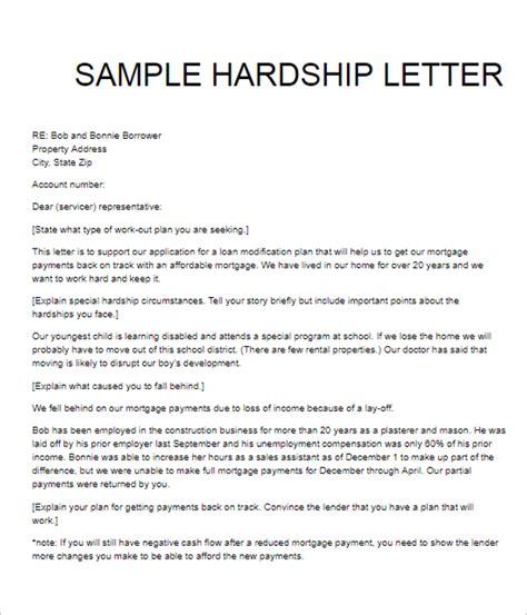 hardship letter template 36 hardship letter templates free pdf exles