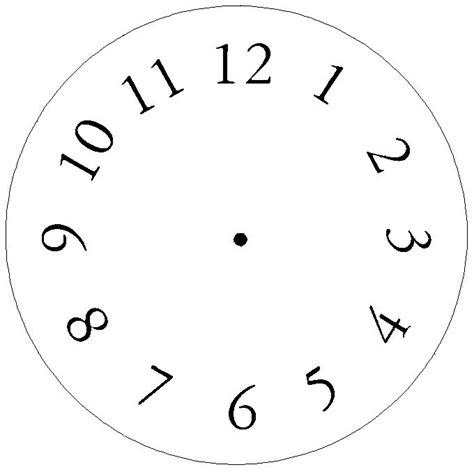 printable preschool clock face common worksheets 187 clock face template printable