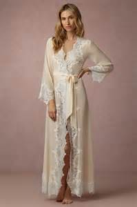 bridal lingeries 10 wedding worthy robes that ll make getting ready so much