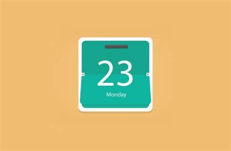 Flip Calendar Flat Flip Calendar Freebiesbug