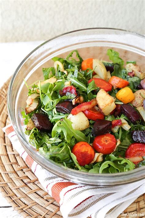 roasted root vegetable salad recipe best healthy recipes