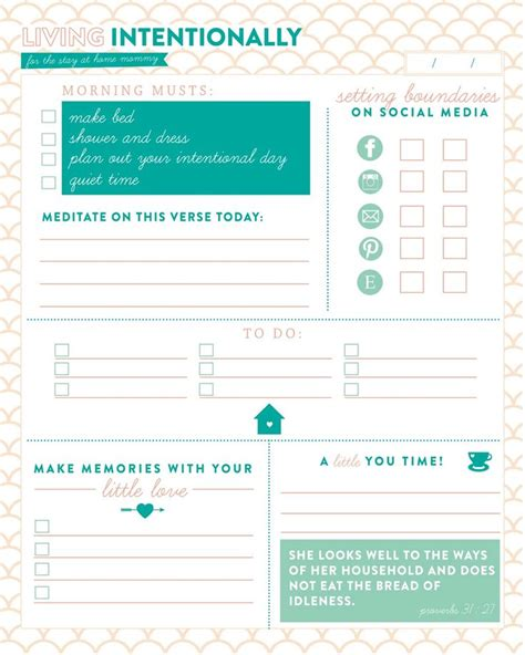 printable mom planner check out this incredible daily planner for living