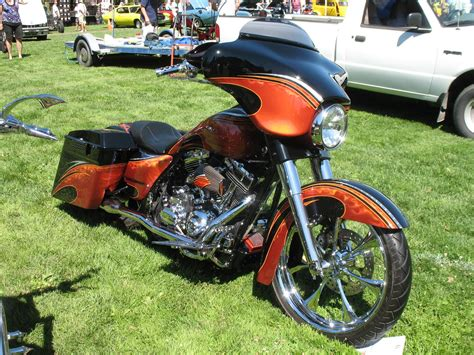 Custom Paint Harley Davidson Motorcycles by Harley Davidson Luxury Custom Paint For Harley