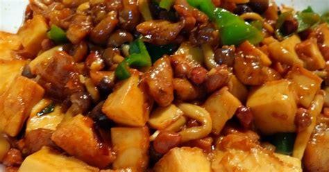 tahu jamur shimeji  resep cookpad