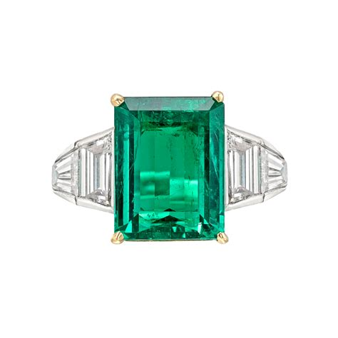 estate betteridge collection 4 82 carat emerald