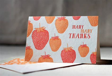Sustainable Thank You Cards