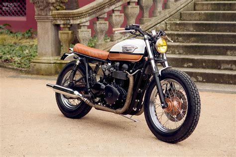 Triumph T100 Custom by Bonneville T100 Custom By Ton Up Garage Portugal