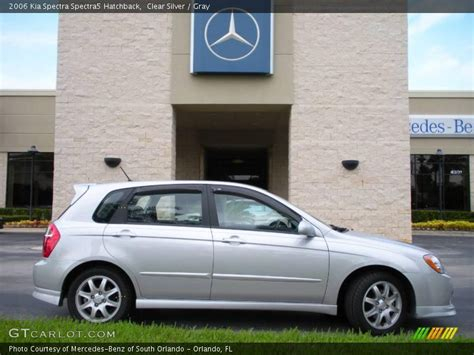 2006 Kia Spectra Hatchback 2006 Kia Spectra Spectra5 Hatchback In Clear Silver Photo