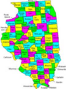 Map Of Illinois Counties by Illinois County Map