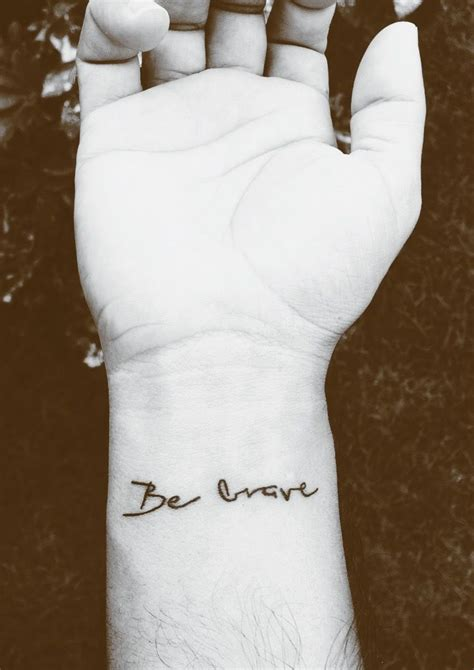 brave tattoos 25 best ideas about be brave on brave