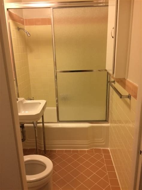 how to have in a bathroom how to decorate ugly pink yellow bathroom