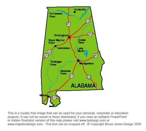 us map alabama state us state printable maps alabama to royalty free