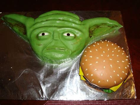 17 Best Images About Yoda Cakes On Pinterest Party Planning Yoda Cake And Birthday Cakes Yoda Cake Template
