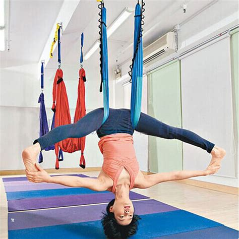 anti gravity swing oem inversion anti gravity aerial traction yoga fitness