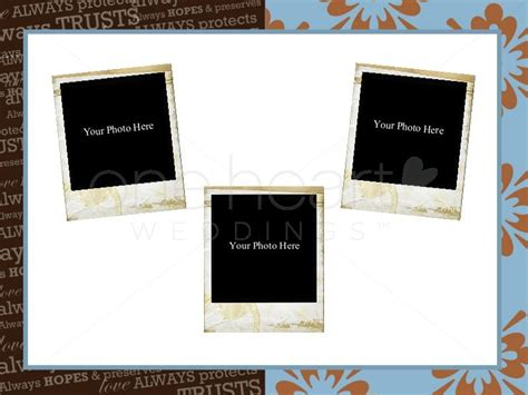 scrapbook wedding powerpoint slide 5