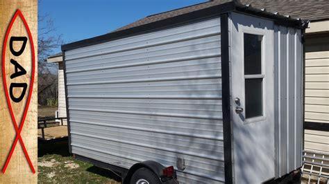 diy homemade camper trailer youtube