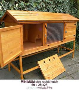 Bunny Hutches For Sale Rabbit House Living Amp Sleeping
