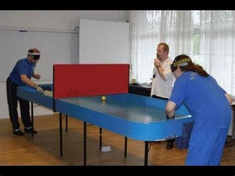 tavolo ping pong fai da te aversa ce un tavolo da ping pong per ciechi in
