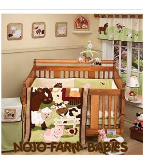 Nojo Farm Babies Crib Bedding Farm Babies Bedding By Nojo