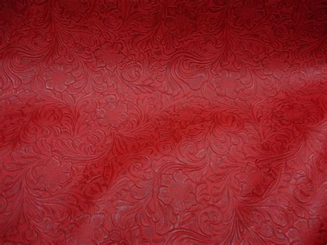 Where To Buy Leather Upholstery Fabric by Aztec Laredo Embossed Floral Faux Leather Vinyl Upholstery