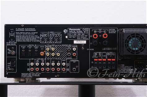 V Audio Surround Panasonic by Panasonic Sa He90 Digital Heimkino Av Receiver Fein Hifi