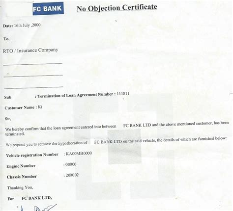 Icici Car Loan Noc Letter How To Car Loan Be Money Aware
