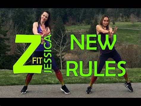 dua lipa zumba new rules dua lipa zumba 174 zumbafitjessica youtube