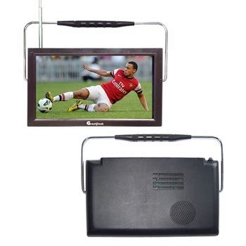 Led Tv Portable 7 Inchi Stereo Berkualitas 7 inch portable tv standard definition mini led tv with two colors remote buy portable