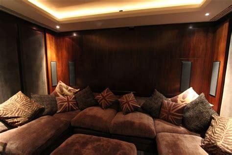 Sofa For Cinema Room by Bespoke Home Cinema Room