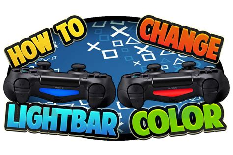 ps4 controller light change how to change ps4 controller light bar color youtube