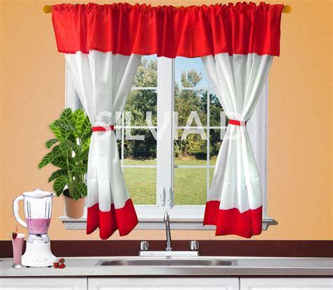 cortina cocina como hacer cortinas para la cocina