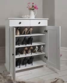 shoe storage cabinet cupboard with 2 storage drawers