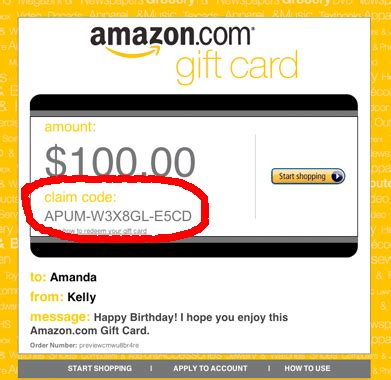 Gift Card Coupon - amazon gift card coupon car wash voucher